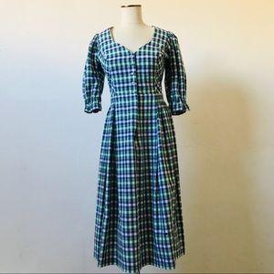 Vintage 1970s German Trachten Dirndl Dress
